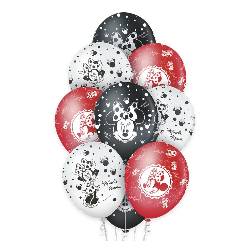 Balão Minnie Premium - 12 Polegadas - 10 Unidades