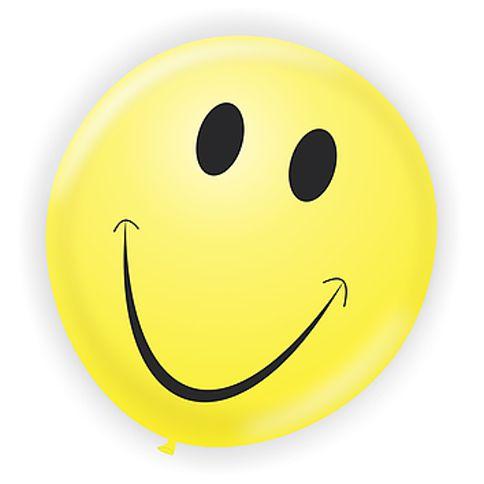 Balão Redondo N9 Sorriso Smile