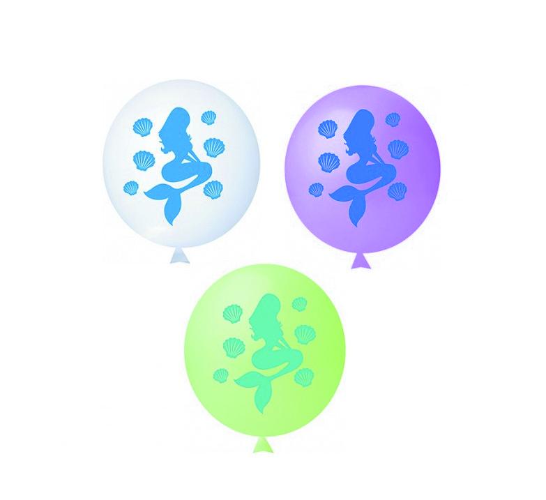 Balão Sereia Sortidos Happy Day