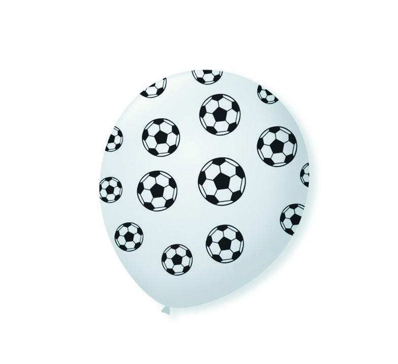 Balão Bola de Futebol - 11 Polegadas - 25 Unidades