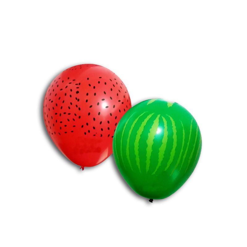 Balão de Melancia 11 Polegadas - 25 Unidades