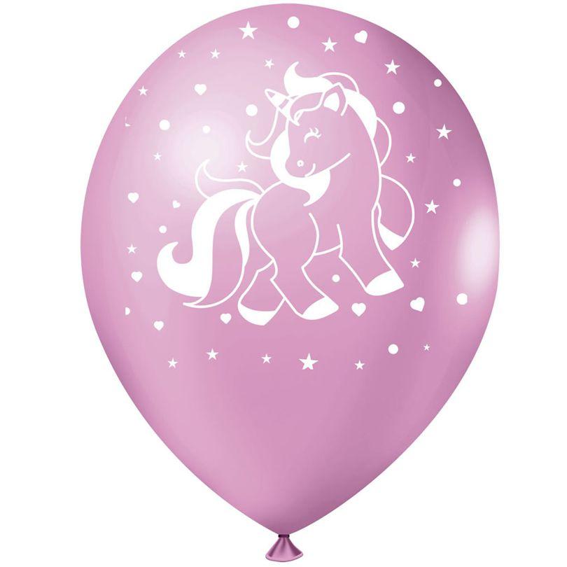 Balão Unicórnio Rosa