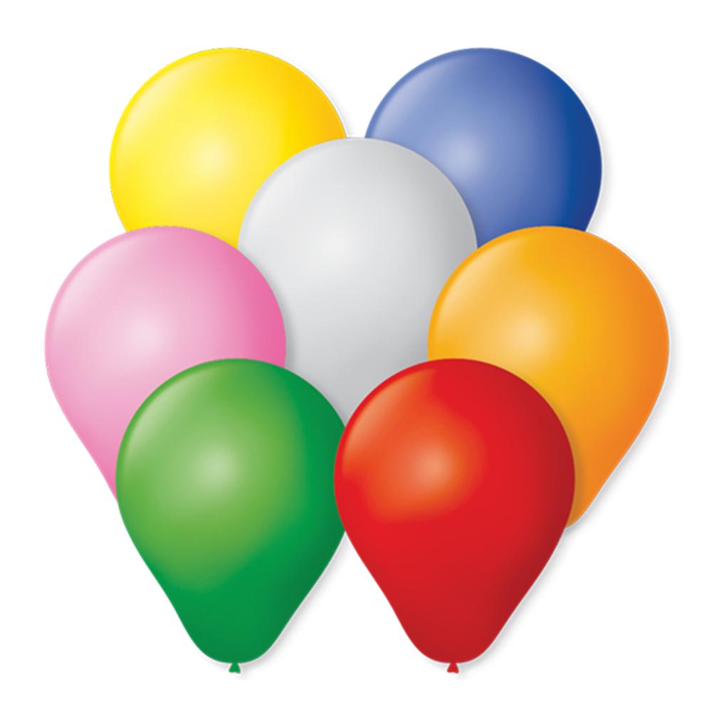 Balão Zerinho Sortido - 3 Polegadas - 100 Unidades