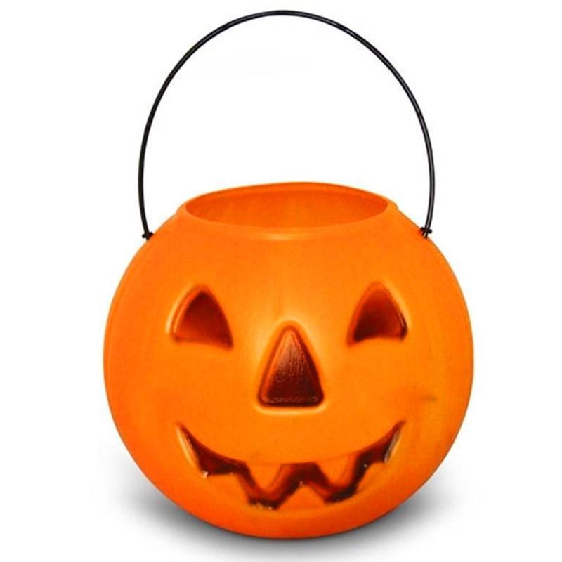 Balde Abóbora Halloween