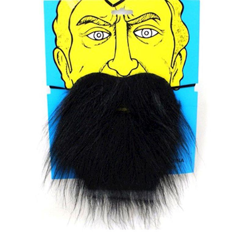 Barba Preta Postiça