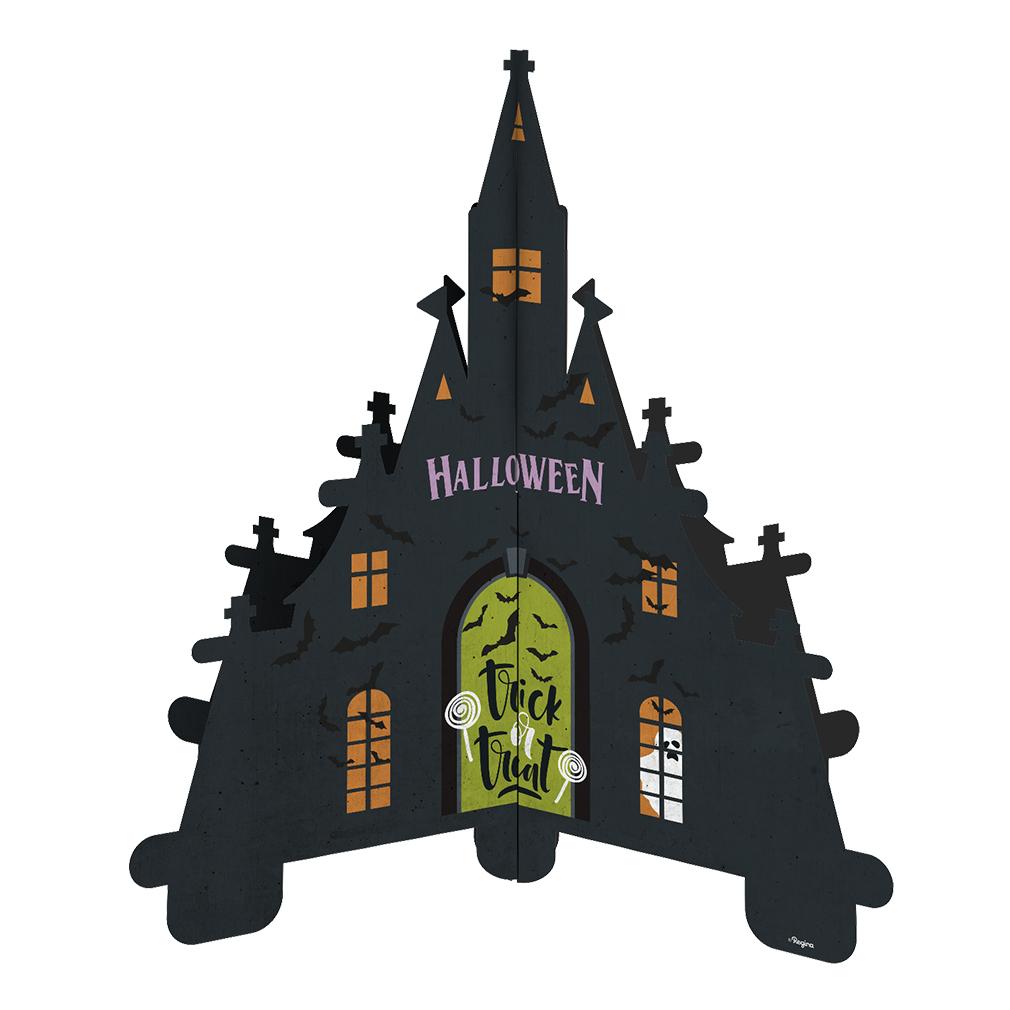 Centro de Mesa Casa Assombrada Halloween