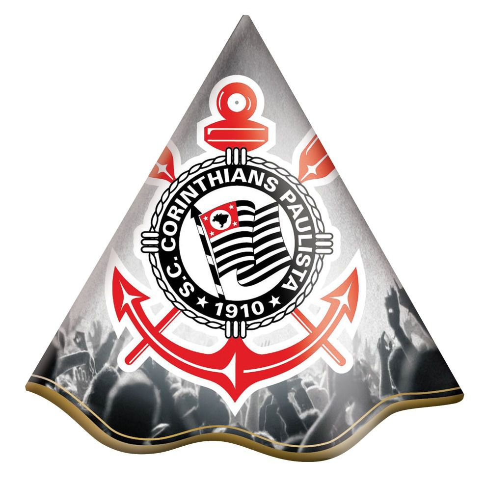 Chapéu de Aniversário Corinthians - 8 unidades