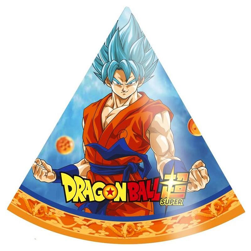 Chapéu de Aniversário Dragon Ball - 8 Unidades