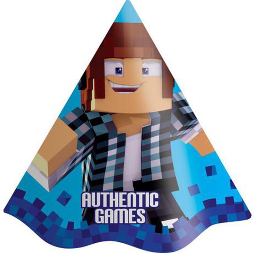 Chapéu Festa Authentic Games - 8 Unidades