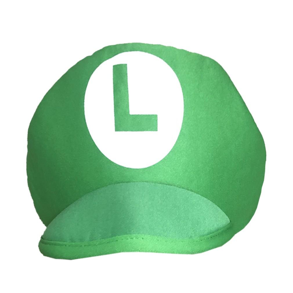 Chapéu Luigi de Pelúcia
