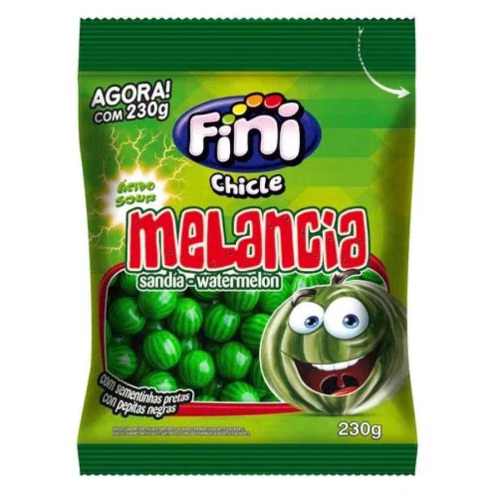 Chiclete Melancia e Melão Ácido Fini - 230g