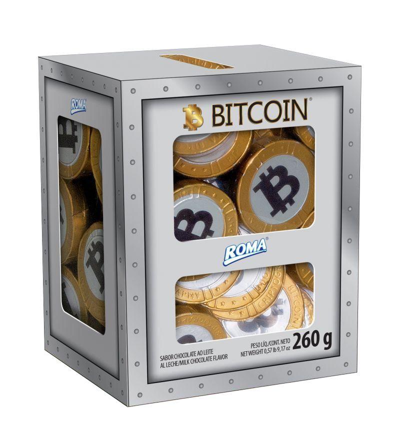 Moedas de Chocolate Bitcoin - 260g
