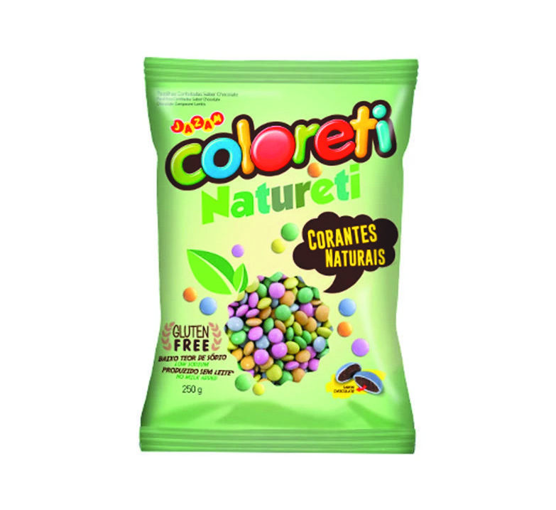 Coloreti Natureti - 250g sem glúten