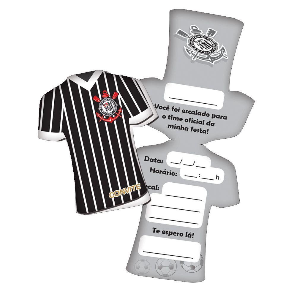 Convite de Aniversário Corinthians