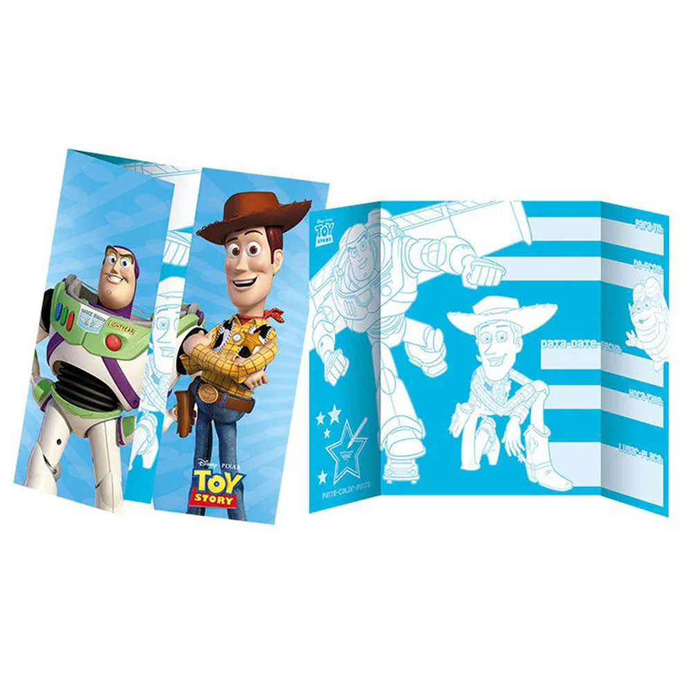 Convite Toy Story - 8 Unidades