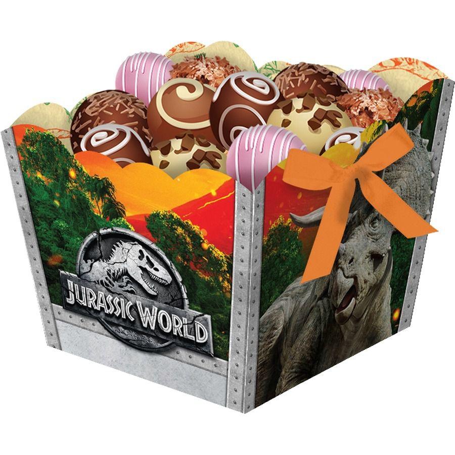 Cachepot Jurassic World - 08 unidades