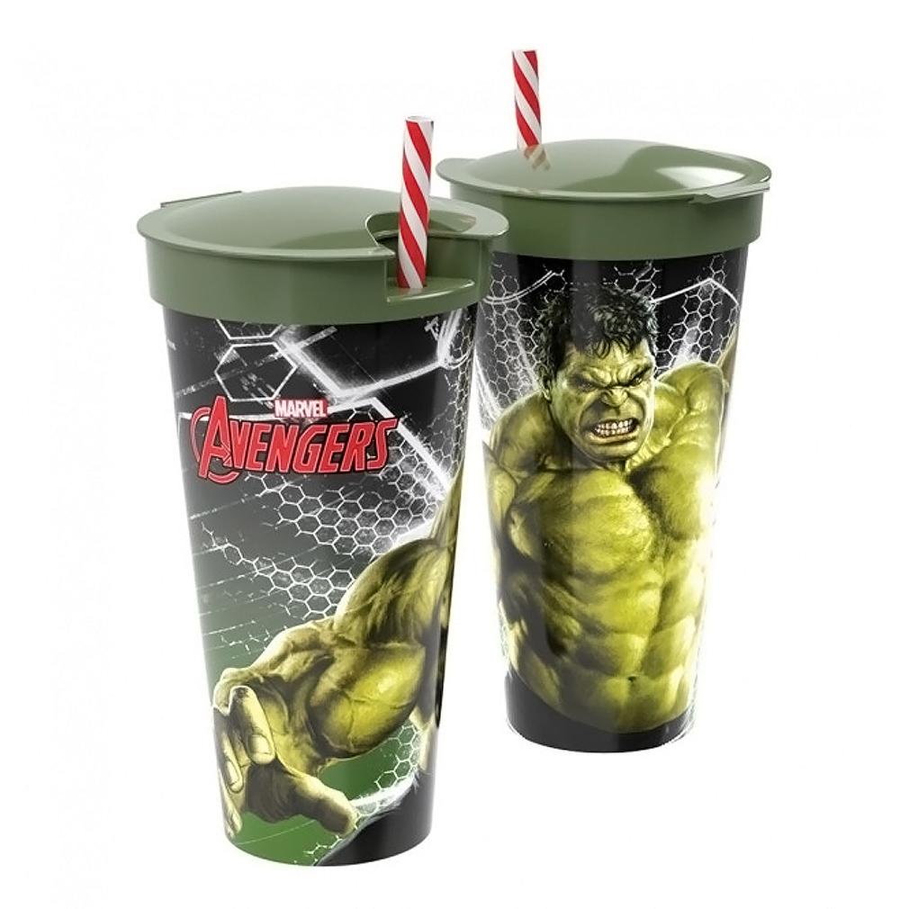 Copo Hulk 2 em 1 - 540ml