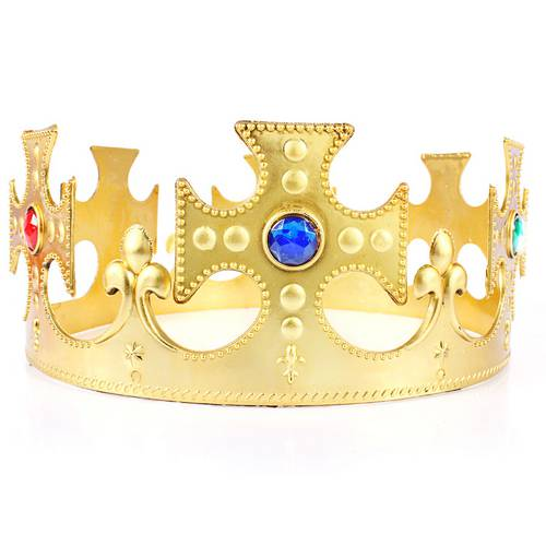 Coroa de Rei de Plástico
