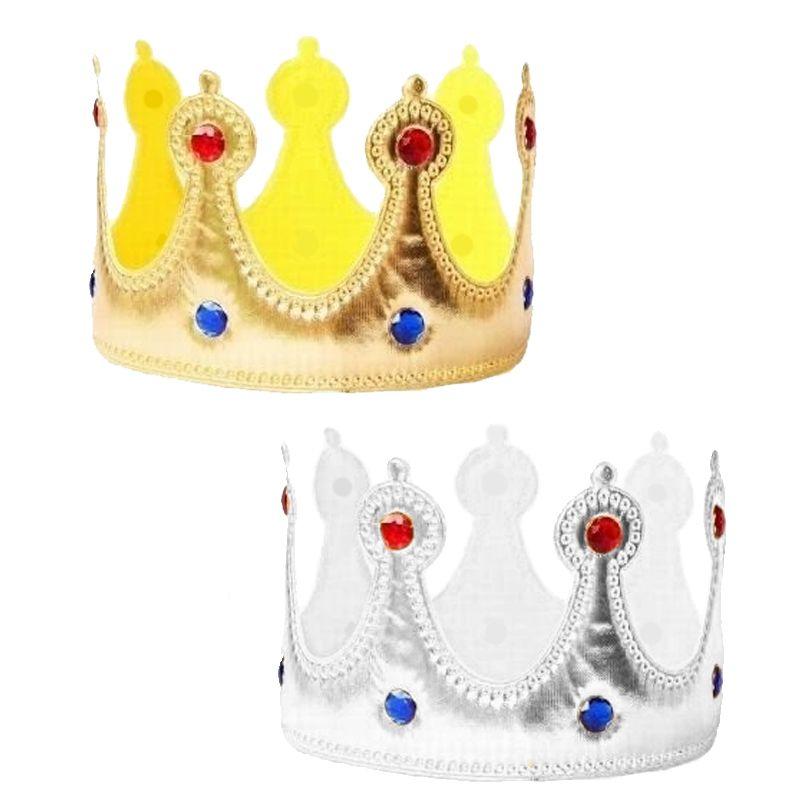 Coroa de Rei de Tecido