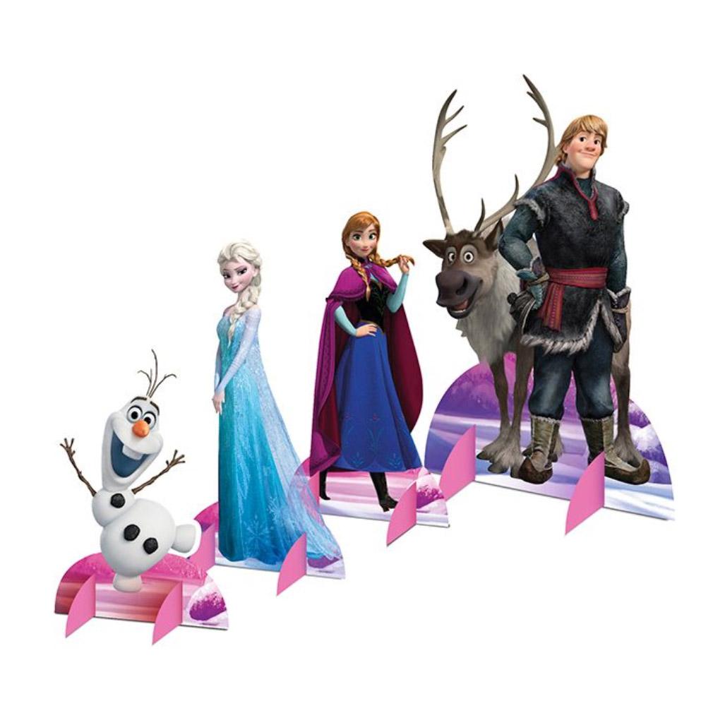 Decoração de Mesa Frozen - 8 Itens