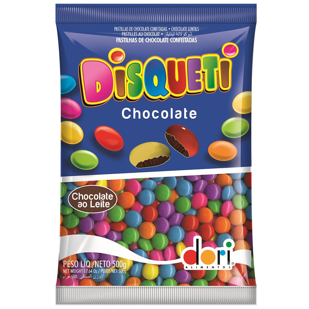 Disqueti Chocolate Preto - 500g