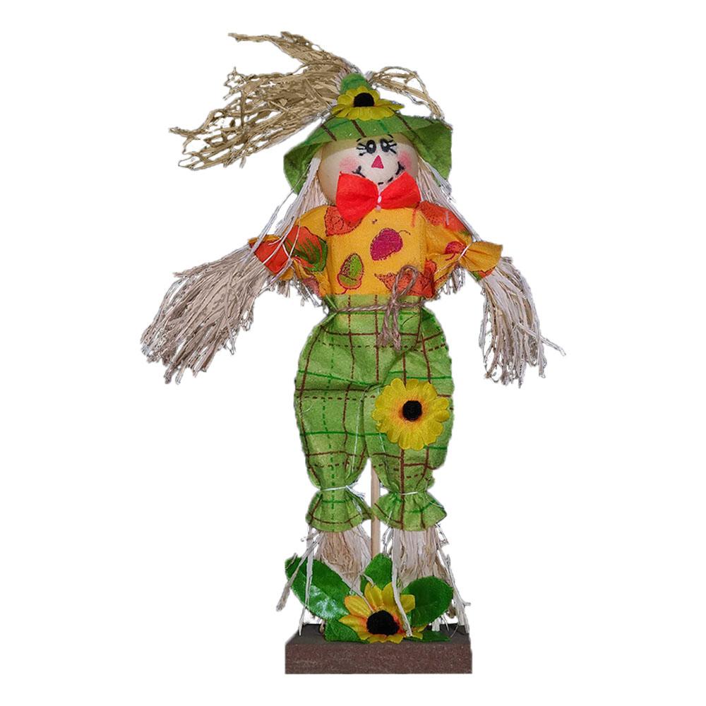 Espantalho Festa Junina Decorativo de Mesa - 30cm x 15cm