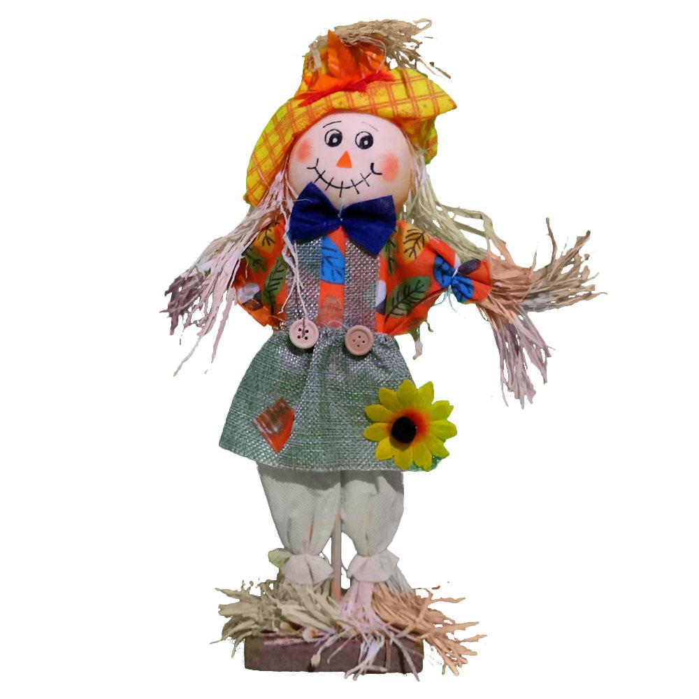 Espantalho Festa Junina Decorativo de Mesa - 40cm x 20cm