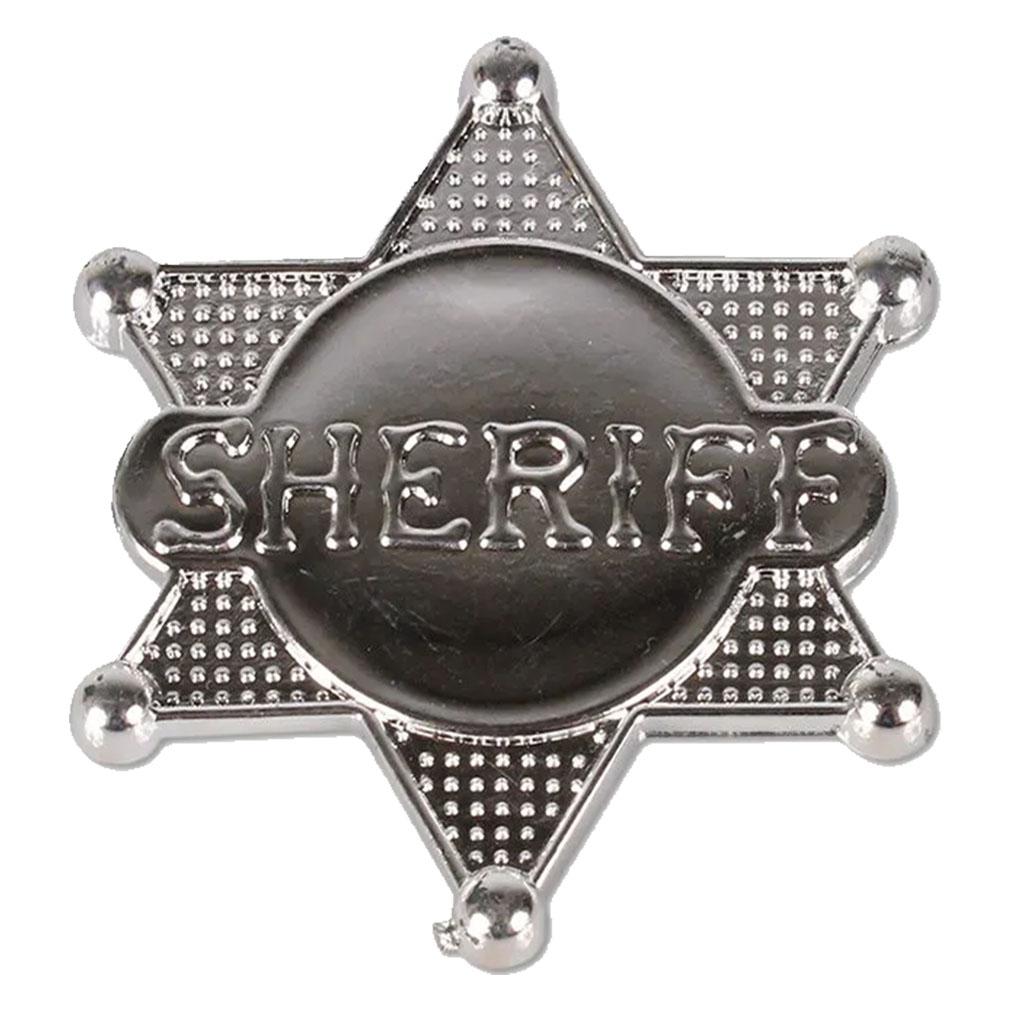 Estrela de Xerife Prata