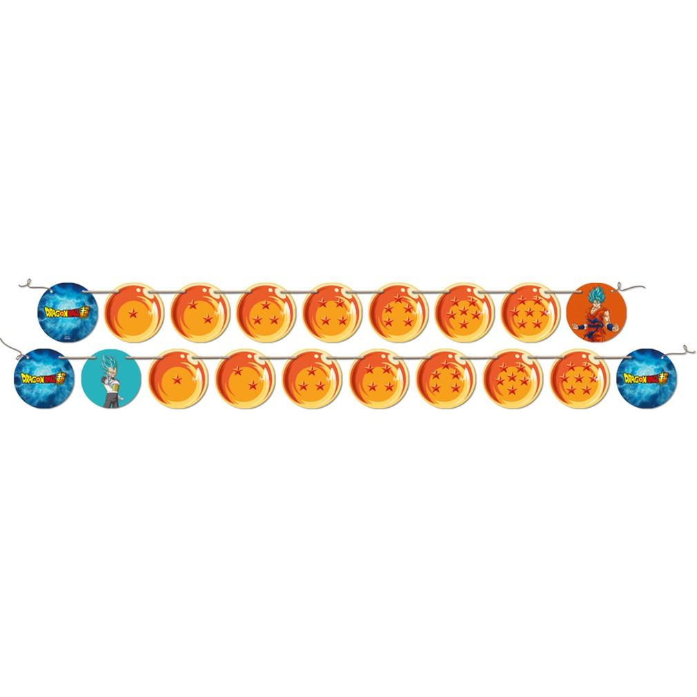 Faixa de Aniversário Dragon Ball - 2,15m