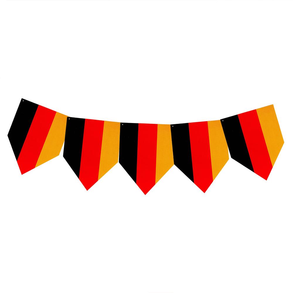 Faixa Decorativa Bandeirinhas Alemanha - 8m x 18cm