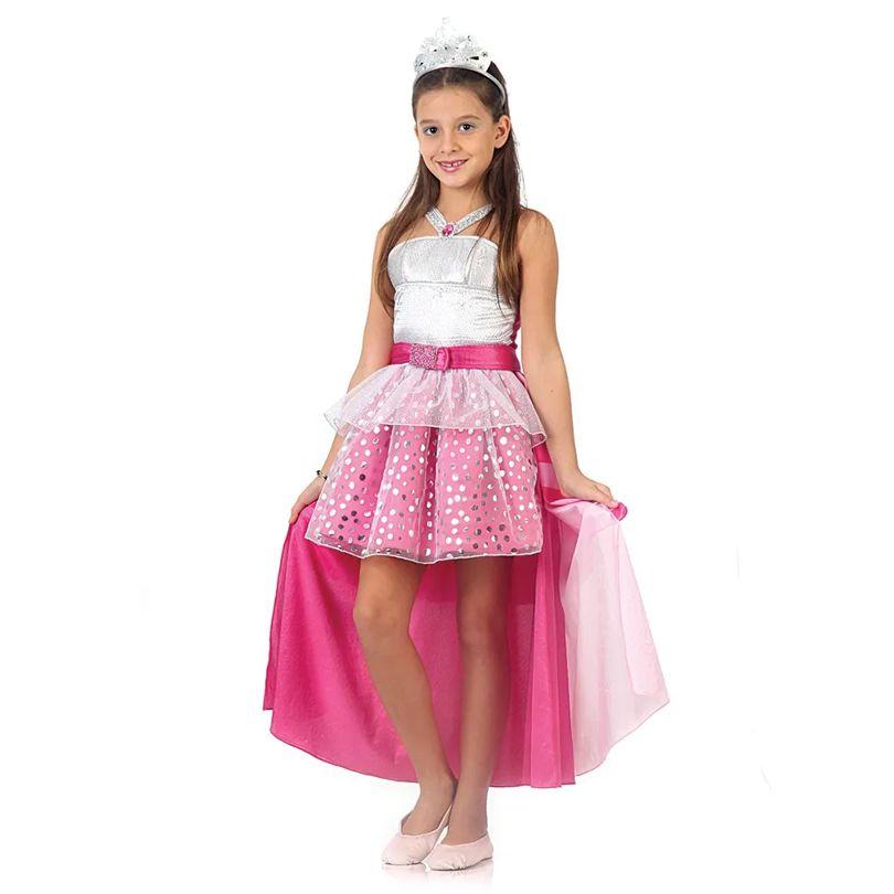 Fantasia Barbie Rock In Royals Luxo P