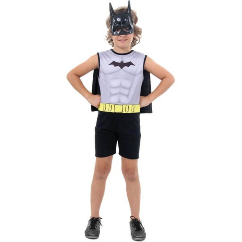 Fantasia Batman Regata - Infantil