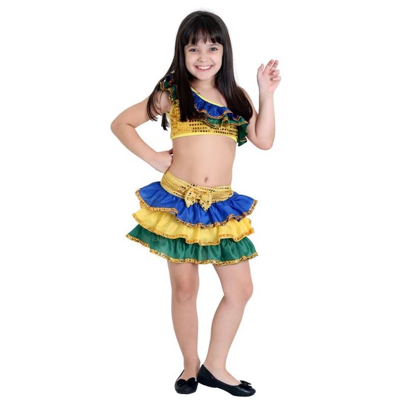 Fantasia Brasileirinha - Infantil