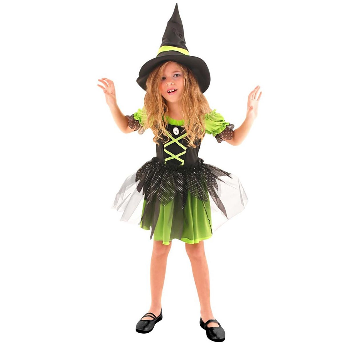 Fantasia Bruxa Divertida Infantil