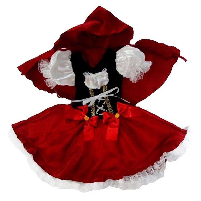 Fantasia Chapéuzinho Vermelha - Infantil