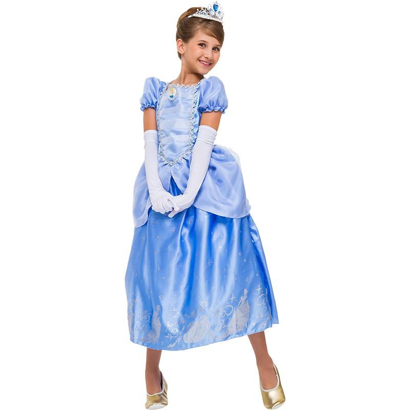 Fantasia Cinderela - Luxo - Infantil