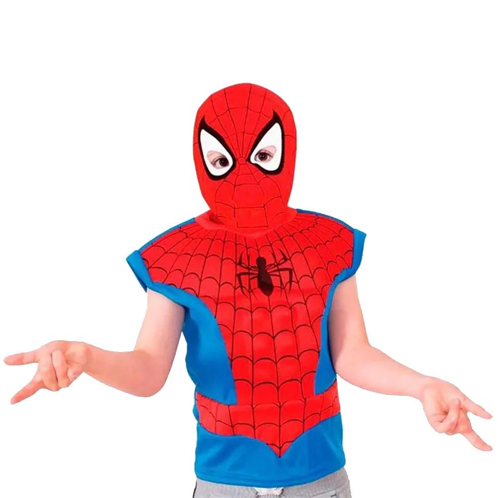 Fantasia Homem Aranha - Dress Up - Infantil