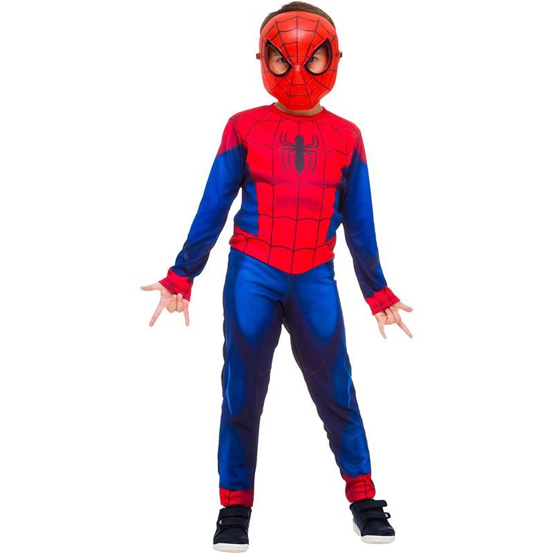 Fantasia Homem Aranha - Longa - Clássico - Infantil
