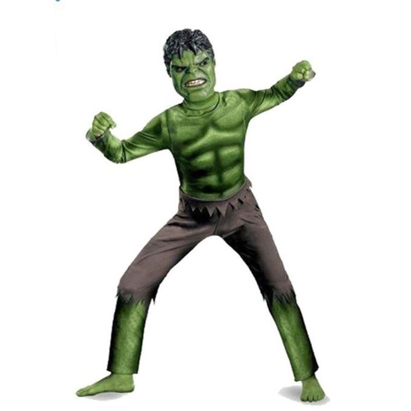 Fantasia Hulk - Clássico Luxo - Infantil