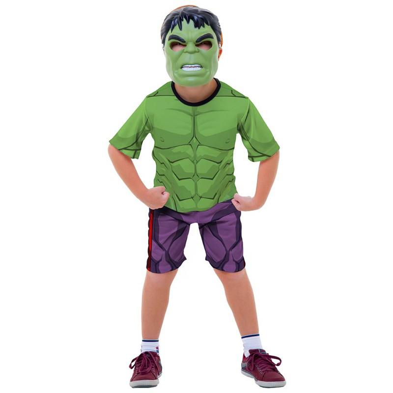 Fantasia Hulk - Curta - Clássica - Infantil