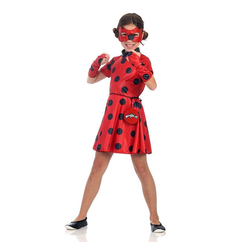 Fantasia LadyBug - Vestido - Infantil