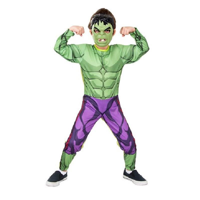 Fantasia Hulk - Longa - Clássica - Infantil