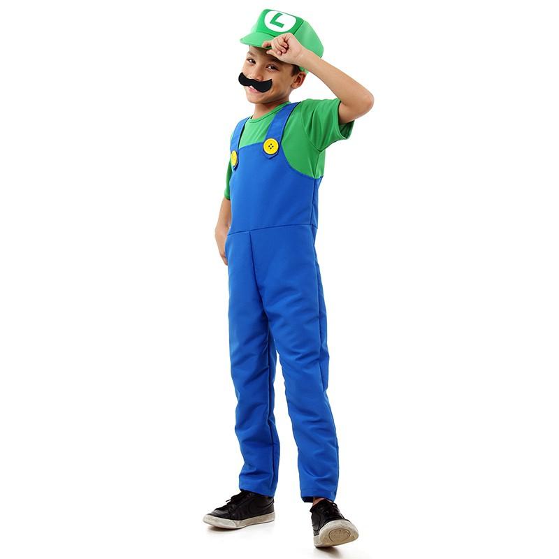 Fantasia Luigi - Luxo - Infantil