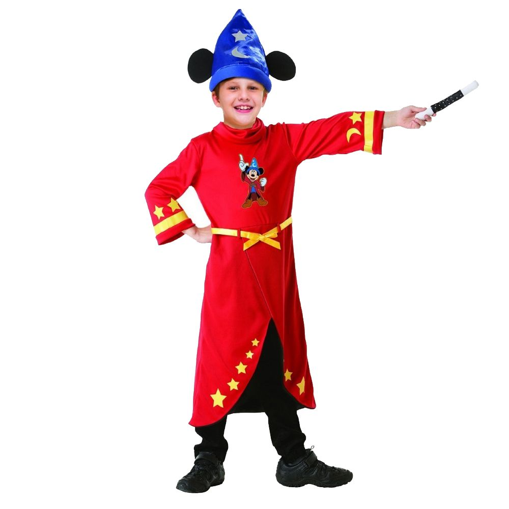 Fantasia Mickey Mouse - Mago - Infantil