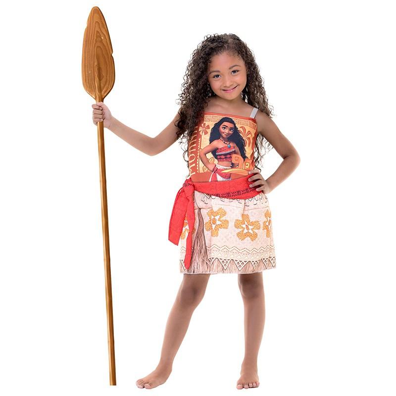 Fantasia Moana Coleção Personagens - Infantil