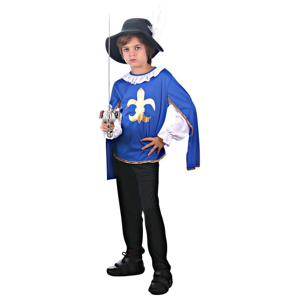 Fantasia Mosqueteiro Azul