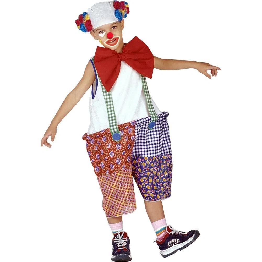 Fantasia Palhaço de Circo - Infantil