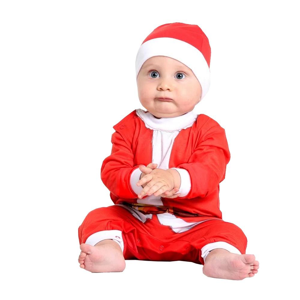 Fantasia Papai Noel - Bebê
