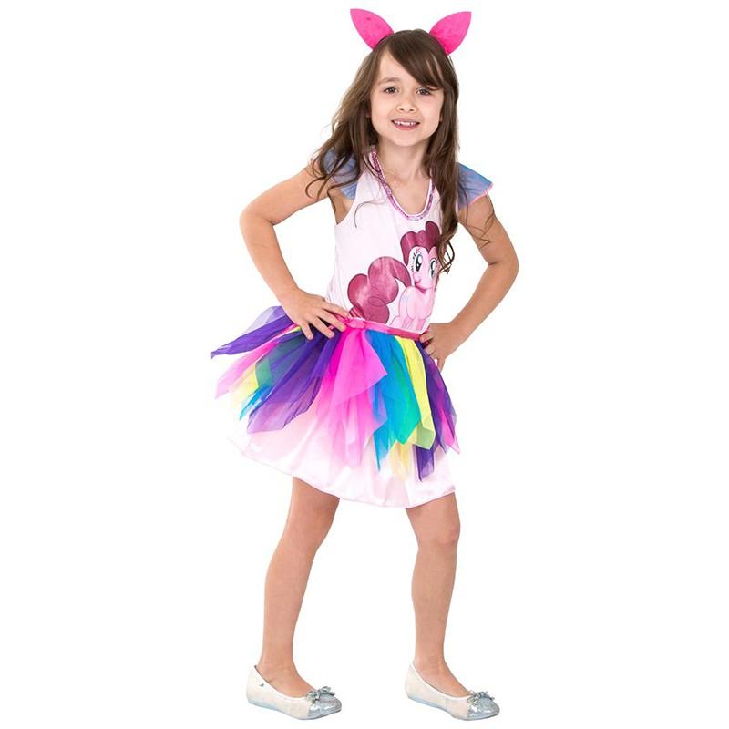 Fantasia Pinkie Pie - Clássico - Infantil
