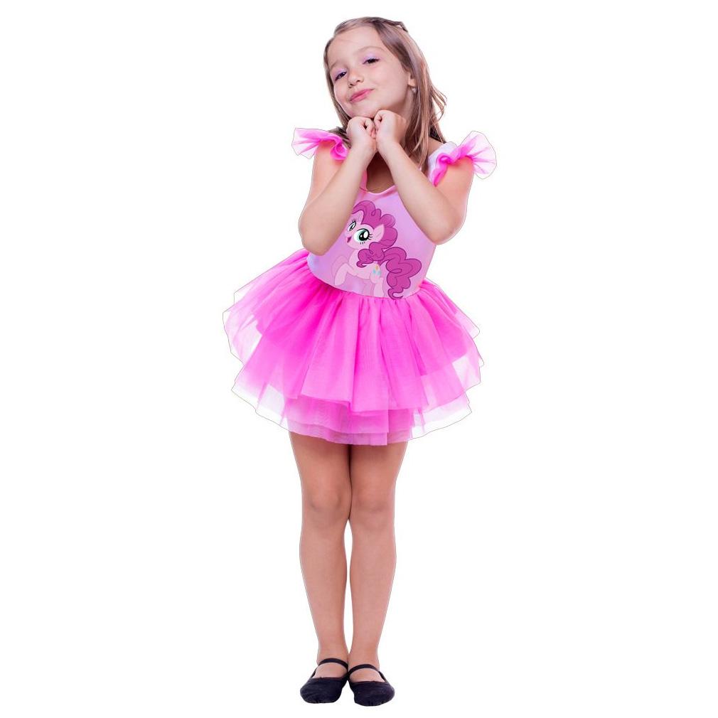 Fantasia Pinkie Pie Infantil Pop My Little Pony
